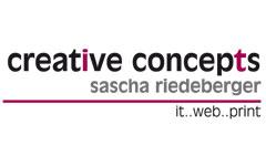 creative concepts - Sascha Riedeberger
