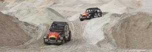 Fahrtraining in der Sandgrube